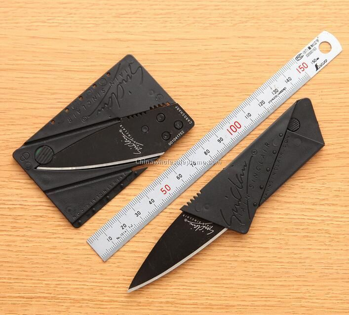 Stainless Steel Blade Credit Card Knife Super Sharp