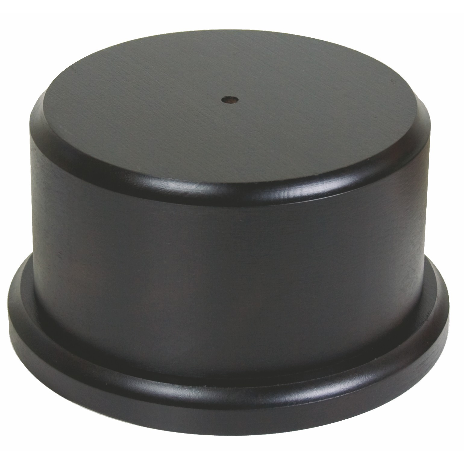 Round Black Wooden Trophy Base