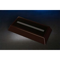 "Dark Rosewood Rectangular LED Base (7 x 11-3/4"")"