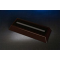 "Dark Rosewood Rectangular LED Base (4-3/4 x 6-5/8"")"