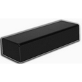 "Black Rectangular Bases (3""x14""x 4"")"