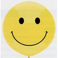 "17"" Outdoor Display Smile Face Stock Printed Balloon"