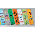 "2""x8"" Stock Recognition Ribbons (HAPPY HALLOWEEN) LAPEL"