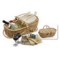 Wine & Cheese Eco Picnic Basket