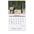 Coil Bound Monthly Wall Calendar w/ Wildlife
