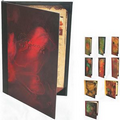"Triple Panel Continuous Copper Front Cover (Holds THREE 8 1/2""x14"" Inserts)"