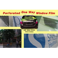 Perforated One Way Window Film