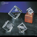 Clearaward Cubic Wooden Base