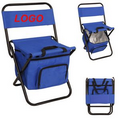 Collapsible Bench Chair with Pocket