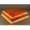 "Authentic Burlwood Base (12 1/4""x11 1/4"")"
