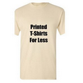 Printed Natural T-Shirts for Less