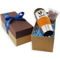 16 Oz. Tumbler Gift Box w/ Mini Pretzels