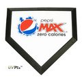 UVPix Printed Mini Baseball Homeplate