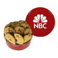 Red King Size Cookie Tin