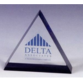 Lucite Triangle Stock Embedment/ Award