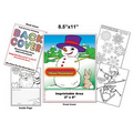 Winter Wonderland - Imprintable Coloring & Activity Book