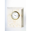 Mini Column Clock (Botticino Beige)