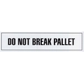 "Stock Imprinted Polypro Tape 2"" x 110yds (Do Not Break Pallet)"