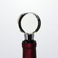 Optical Crystal Circle Wine Stopper