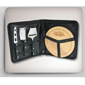 Portable 3 Piece Cheese Knife & Board Set
