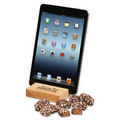 Hard Maple iPad  Holder/Tablet Stand with English Butter Toffee