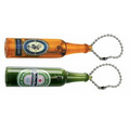 Beverage Bottle Projection Key Chain - Color Projection Image