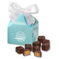 Peanut Butter Meltaways in Robin's Egg Blue Gift Box