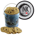 One Gallon Cookie Tin - Winter Sleigh Ride