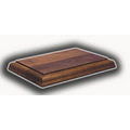 "Solid Walnut Bases - Rectangle Base (3/4""x6""x4"")"