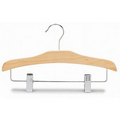 "12"" Children's Decorative Wooden Combo Hanger"