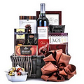 Wine & Cheese Gift Basket