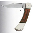 "Sabre Series 3"" Lockback Wood Handle Pocket Knife"