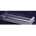 "Acrylic Rectangle Base w/ Beveled Edge (3""x4""x1.5"")"