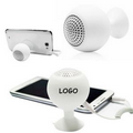 Silicone Bluetooth Speaker W/Phone Stand